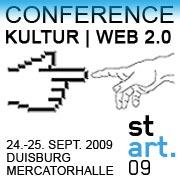 stARTconference: Idee, Planung, die Konferenz und unsere Nominierung für den Kulturmarken Award 2009