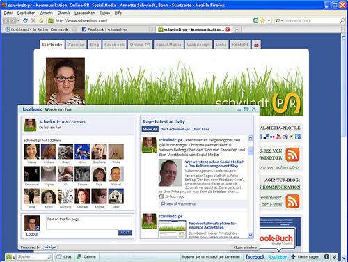 Wibiya - Interaktivität selbst auf statischen Webseiten